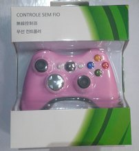Game controller for Xbox 360 gamepad wireless with blister box packaging