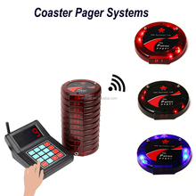 NEW CATEL restaurant coaster pager / wireless calling system /paging system
