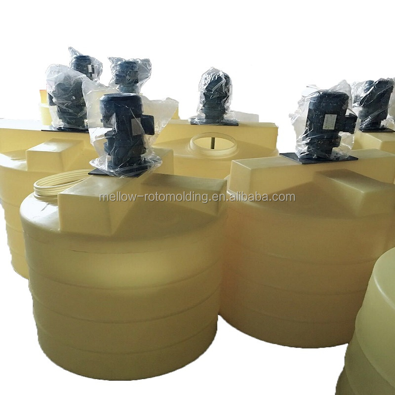 Agriculture and medicine use plastic chemical dosing water tank