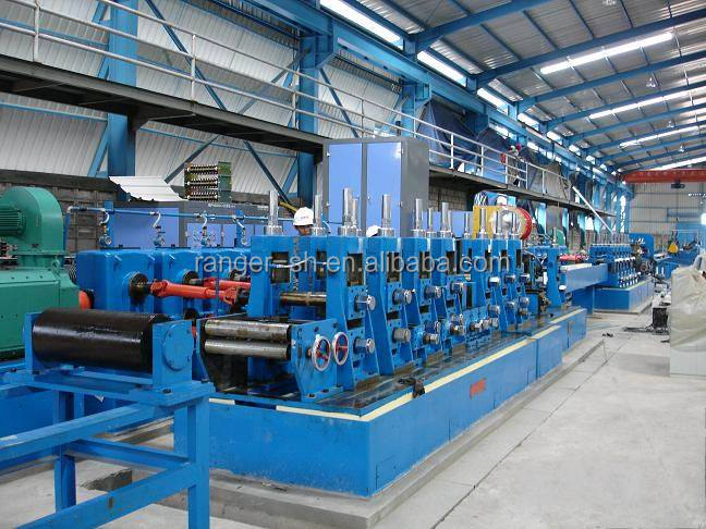 Welded tube roll former mill round/ square pipe making machine welded pipe roll forming machine