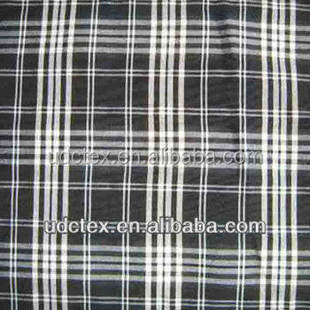 40s cotton check fabric for garment