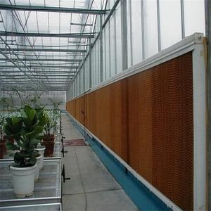 Greenhouse cooling system wet curtain cooling pad for chicken house