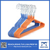 Dry Cleaning Colored Plastic Coated Wire Non-slip galvanized hanger