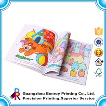 Custom Designer Colorful Drawing Books for Children Photo