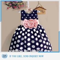 2016 New fashion design new model girl dress 2015 child clothes
