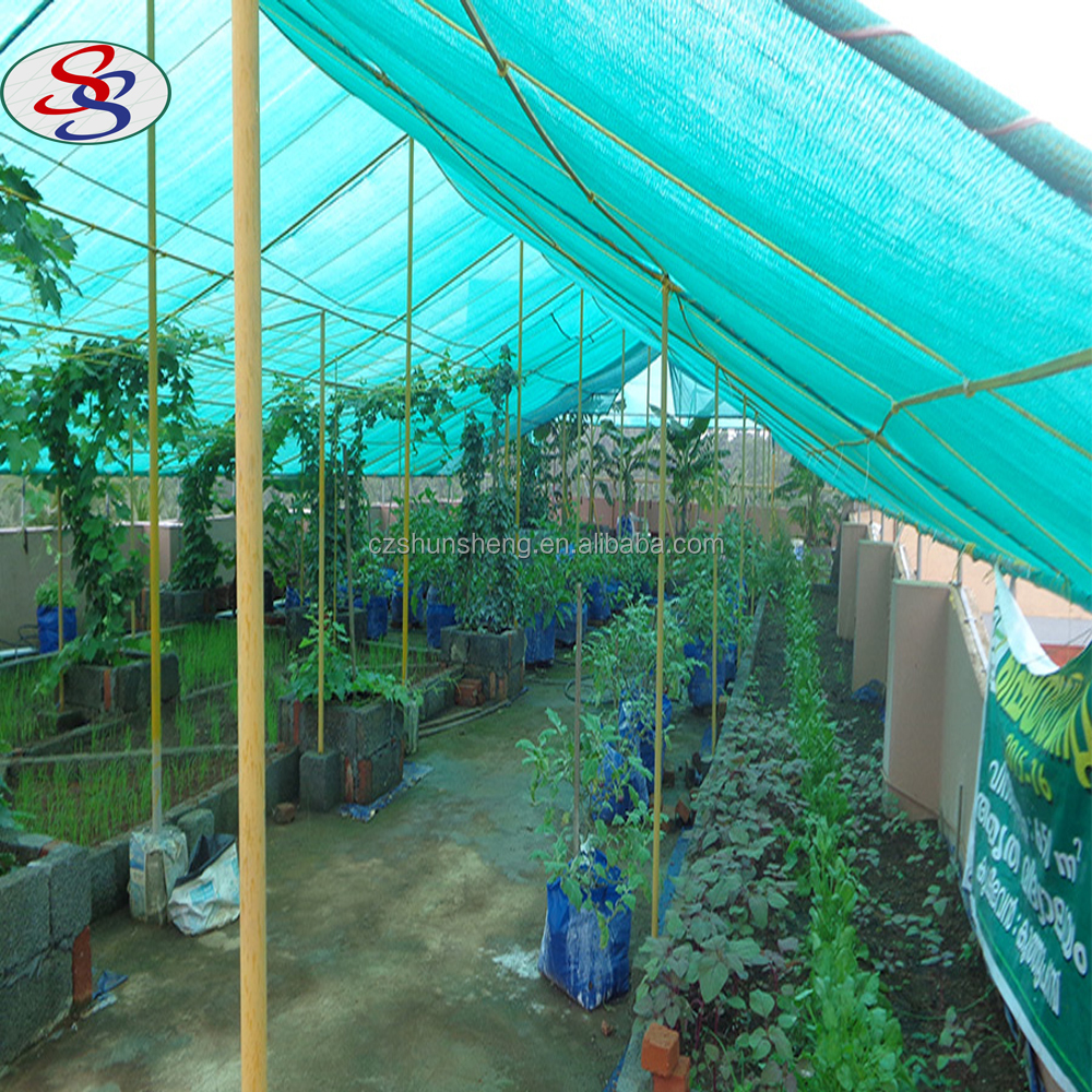 vegetable garden shadow mesh netting for greenhouse