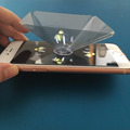 2017 New Holographic Display 3D Pyramid Display Phone Hologram 3D holographic projection