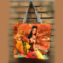 India hot sale PVC tote bag Digital print tote bag