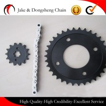 China manufacturer 428 motorcycle chain sprocket, best bajaj pulsar 180 motorcycle chain