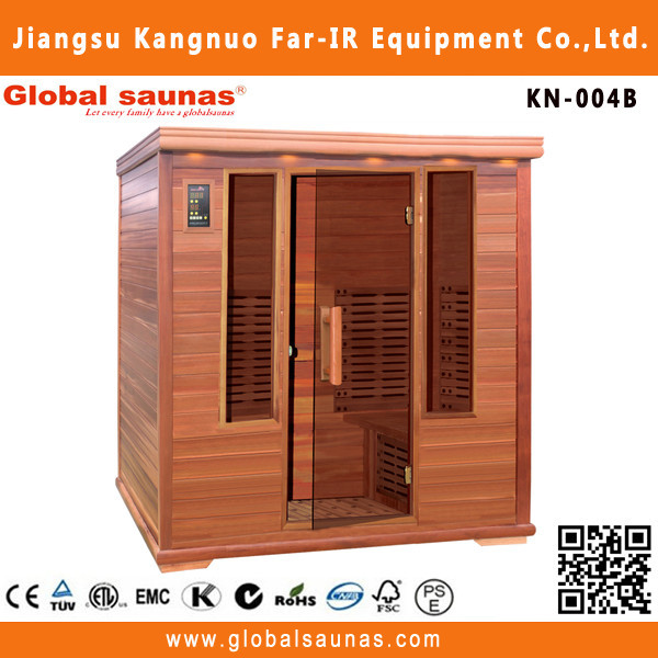 4 person far infrared design two person wooden spa