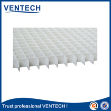 Ventech brand wholesale square eggcrate grille sheet egg crate foam grille