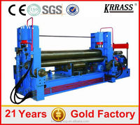 Competitive price 3 rolls small sheet roller bending machine,sheet rolling machine