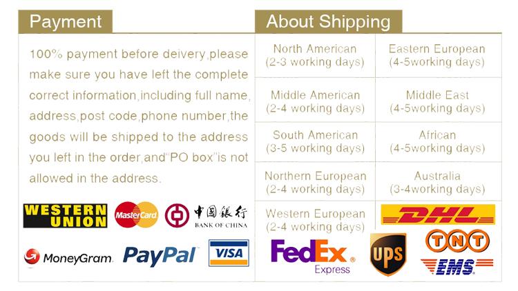 payment ship