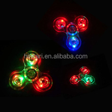 Micgeek Zinc/SS/Brass/Cooper/Plastic Hot sale customized anxiety release ABS LED fidget spinner