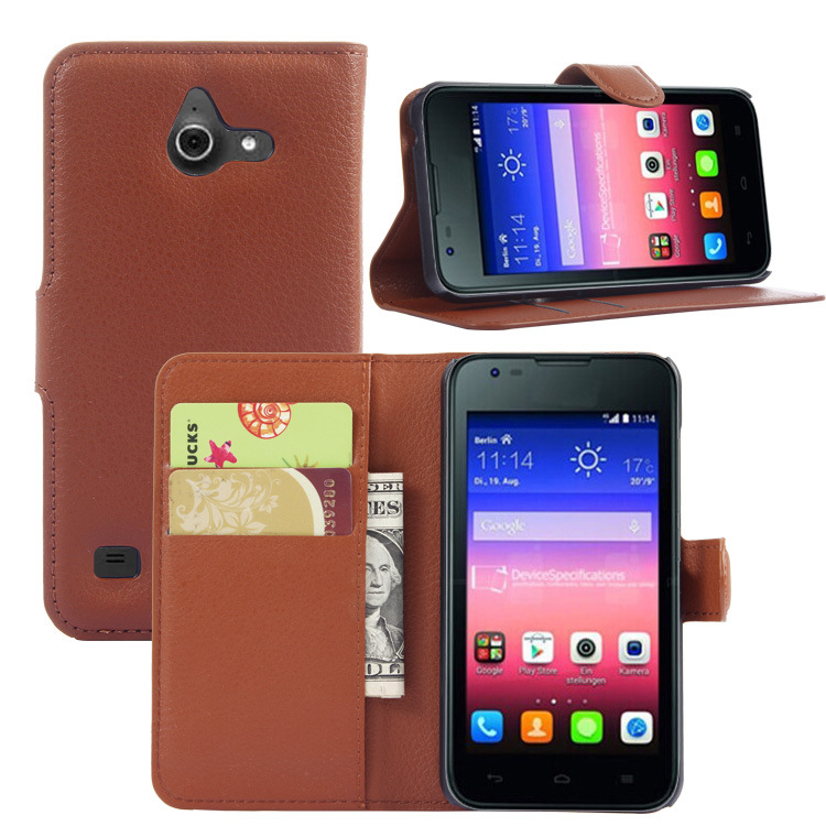 Factory Price Stand Wallet flip Cover Credit card flip case for Blu Dash X2 In Stock