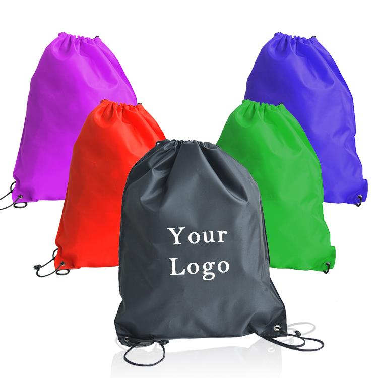 Top Quality Customized Logo Jute Wedding Dresses Drawstring Bag