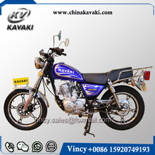 KAVAKI Brand Motorcycle Street Bike Legal Petrol Motorcycle CG Gn 125 Guangzhou Factory Sales