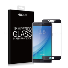 Best Selling! High Clear Glass for Galaxy C7 Pro hardness Tempered Glass Screen Protector 9H Anti-explosion for Galaxy C7 Pro