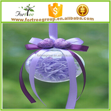 hand blown clear plastic glass christmas balls wholesale