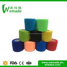 Without limiting Players nonwoven cohesive custom colorful surgical cotton elastic bandage wrap