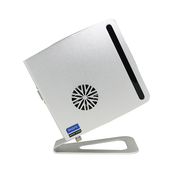 New Small Aluminum Chassis Mini PC X3900M support Windows Linux OS Intel Celeron Dual Core 1.86Ghz Processor