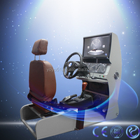 Green Energy drive training car free game machine 3d virtual