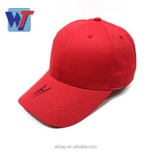 china manufacturer ptomotion advertising hat custom logo red baseball cap