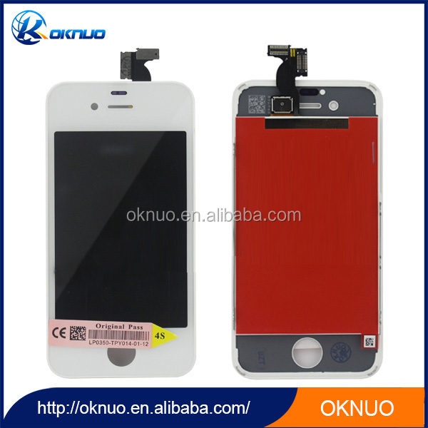 New Arrival digitizer LCD Assemble for iPhone 4S Touch Screen Glass Lens White Black