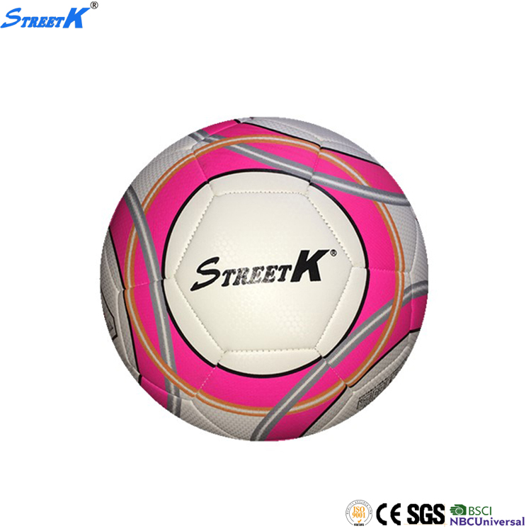 Streetk Brand size 5 football ball wholesale soccer ball