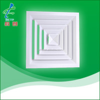 air conditioning square ceiling air diffuser
