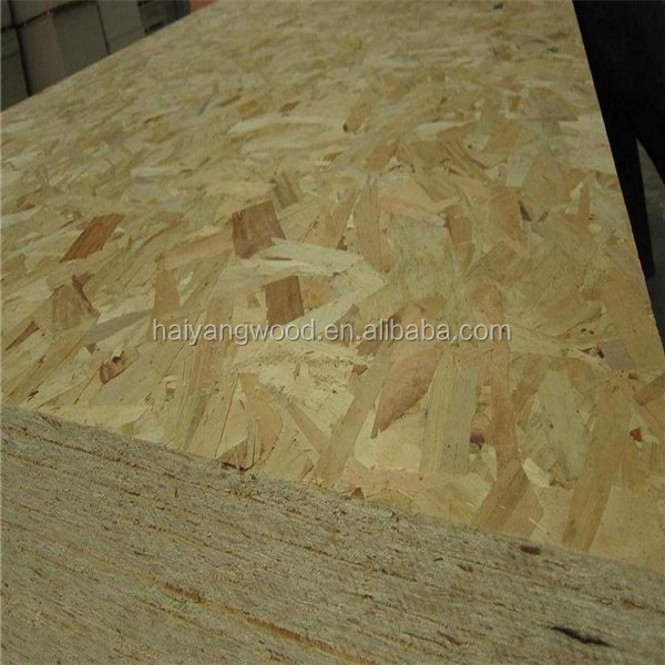 waterproof glue OSB plywood with factory price 9MM