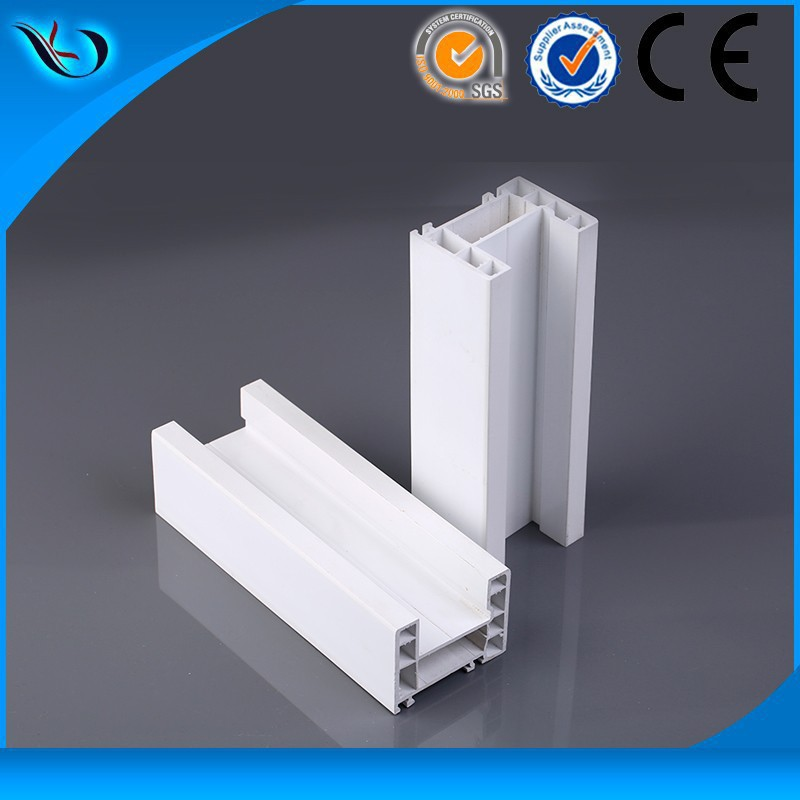 88mm sliding series white pvc profile window