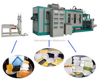 PS Foam Plastic Fruit Tray Moulding Machine