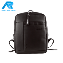 Low price leather fashion hot sell backpack man