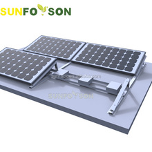 2kw Ballast Solar Panel Roof Mount Brackets/Installing Solar Energy at Home/PV Panel System