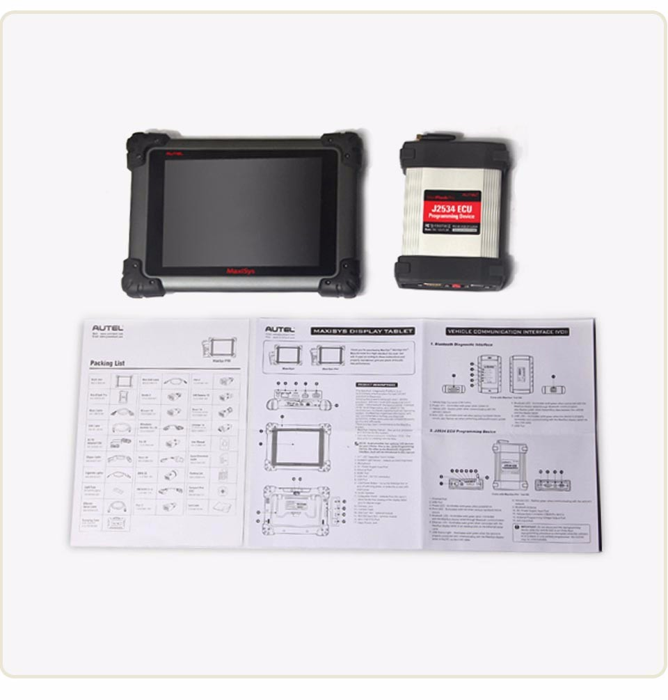 2018 Original Autel Maxisys pro 908P Support J2534 Programador ECU Programmer Programming Tool 1 Year Free Update