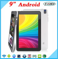 "The Cheapest 9"" Andriod Tablet Pc,Tablet Pc With Dual Core Camera and Bluetooth"