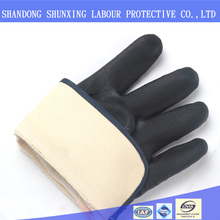 High Quality Oil Resistant PVC Coated Heavy Duty Industrial Gloves