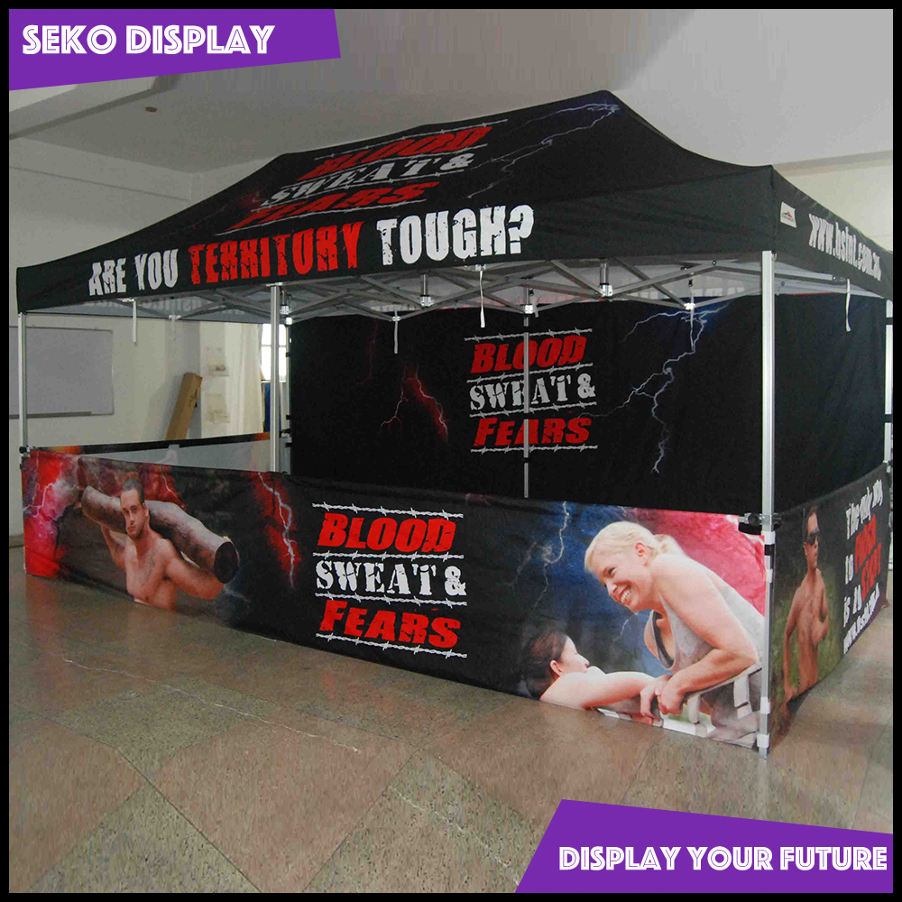 10X20ft aluminum pop up tent for exhibition trade show display