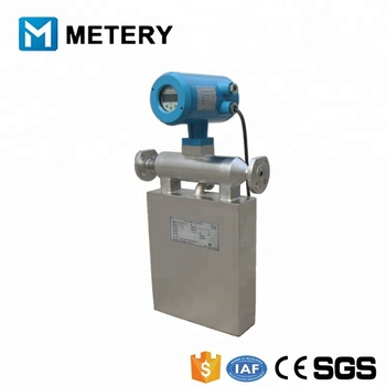 DN15mm high viscosity liquids coriolis mass flow meter
