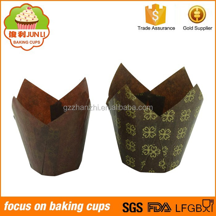 Different Colors Baking Cases Tulip Cupcake Liners Wholesale