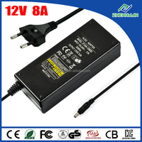 jet power adapter 12v 8.0a ac to dc power supply