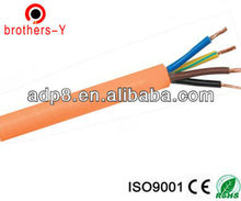 RVV 4 cores flame resisting flexible electrical cable wire