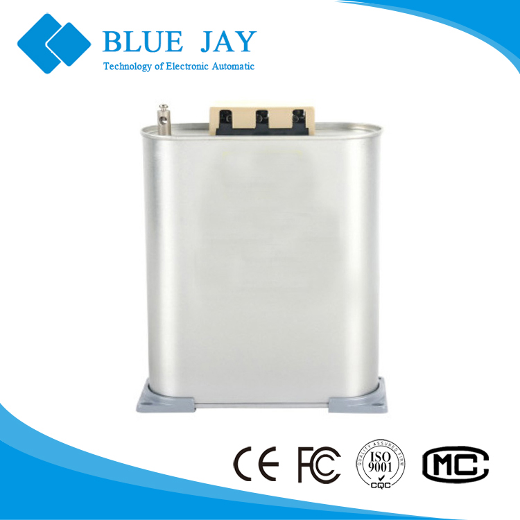 BSMJ 3-phase electrical capacitor for pfc compensation, 30Kvar 60HZ regulator capacitor