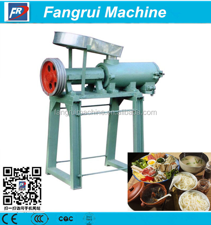 Automatic sweet potato vermicelli extruder /rice noodle making machine / noodle making machine