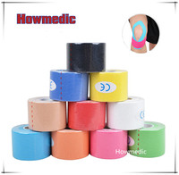 CE ISO FDA Certificate OEM Welcome Cotton Muscle Precut Athletic Tex Printed Waterproof Sports Tape kinesiology