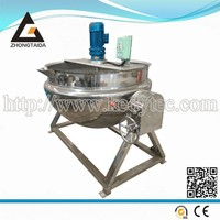 Stainless Steel Industrial Steam Heating Double Jacketed Kettle