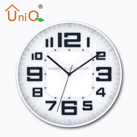 Office decoration acrylic clock