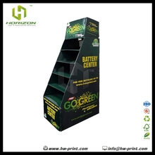 Cardboard Floor Display Stand, Adidas,Floor Stand For Battery