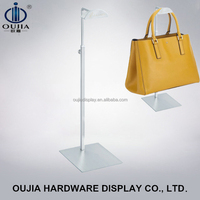 metal bag display/bag display rack stands/handbags stand display